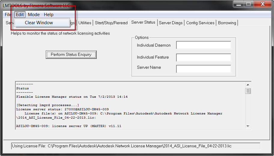 Downloading, Installing, and Configuring LMTools (License